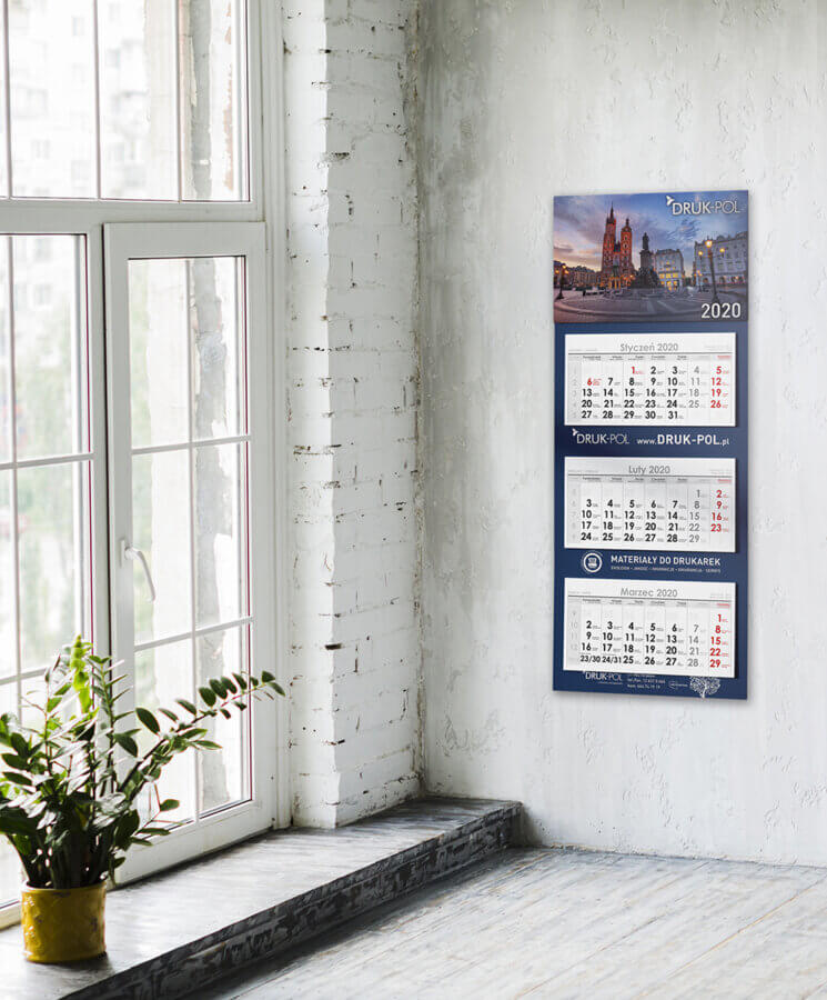 Kalendarz trójdzielny - DrukPol