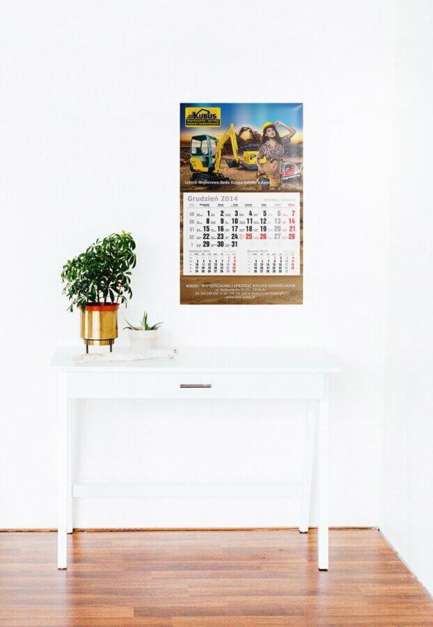 Kalendarz jednodzielny